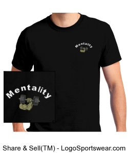Mentality T-shirt Design Zoom